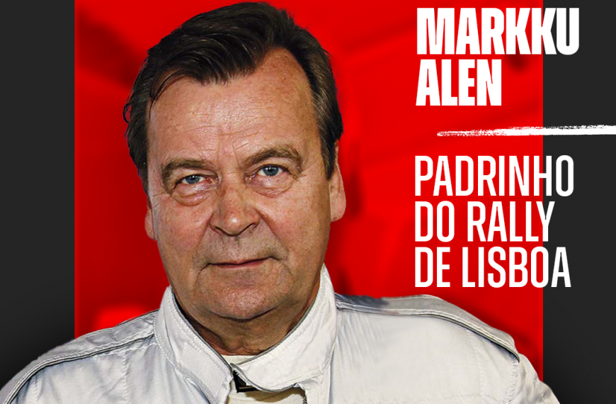 """Markku Alen é o """"Padrinho do Rally de Lisboa"""""""